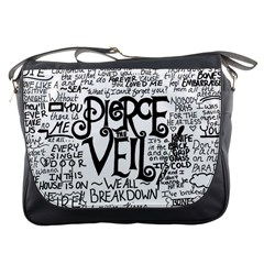 Pierce The Veil Music Band Group Fabric Art Cloth Poster Messenger Bags by Samandel