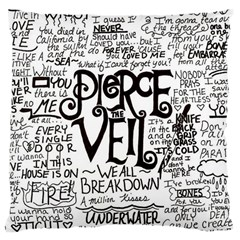 Pierce The Veil Music Band Group Fabric Art Cloth Poster Large Cushion Case (one Side)
