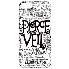 Pierce The Veil Music Band Group Fabric Art Cloth Poster Apple Iphone 5 Classic Hardshell Case by Samandel
