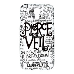 Pierce The Veil Music Band Group Fabric Art Cloth Poster Samsung Galaxy S4 I9500/i9505 Hardshell Case