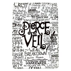Pierce The Veil Music Band Group Fabric Art Cloth Poster Flap Covers (l)  by Samandel