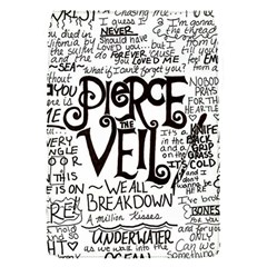 Pierce The Veil Music Band Group Fabric Art Cloth Poster Flap Covers (s)  by Samandel