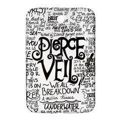 Pierce The Veil Music Band Group Fabric Art Cloth Poster Samsung Galaxy Note 8 0 N5100 Hardshell Case  by Samandel