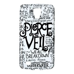 Pierce The Veil Music Band Group Fabric Art Cloth Poster Galaxy S4 Active by Samandel