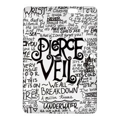 Pierce The Veil Music Band Group Fabric Art Cloth Poster Kindle Fire Hdx 8 9  Hardshell Case by Samandel