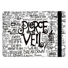 Pierce The Veil Music Band Group Fabric Art Cloth Poster Samsung Galaxy Tab Pro 12 2  Flip Case