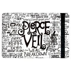 Pierce The Veil Music Band Group Fabric Art Cloth Poster Ipad Air Flip by Samandel