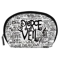 Pierce The Veil Music Band Group Fabric Art Cloth Poster Accessory Pouches (large)  by Samandel