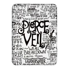Pierce The Veil Music Band Group Fabric Art Cloth Poster Samsung Galaxy Tab 4 (10 1 ) Hardshell Case  by Samandel