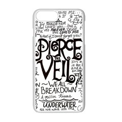 Pierce The Veil Music Band Group Fabric Art Cloth Poster Apple Iphone 7 Plus Seamless Case (white) by Samandel