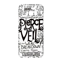 Pierce The Veil Music Band Group Fabric Art Cloth Poster Samsung Galaxy S8 Hardshell Case  by Samandel