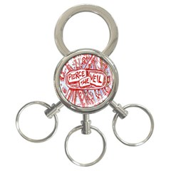 Pierce The Veil  Misadventures Album Cover 3 Ring Key Chains