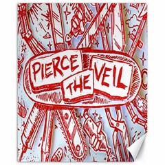 Pierce The Veil  Misadventures Album Cover Canvas 16  X 20