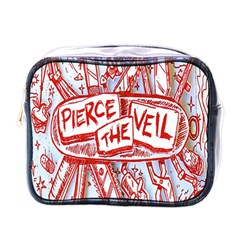 Pierce The Veil  Misadventures Album Cover Mini Toiletries Bags