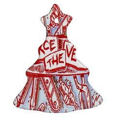 Pierce The Veil  Misadventures Album Cover Ornament (christmas Tree)