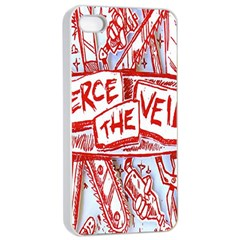 Pierce The Veil  Misadventures Album Cover Apple Iphone 4/4s Seamless Case (white)