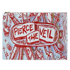 Pierce The Veil  Misadventures Album Cover Cosmetic Bag (xxl)
