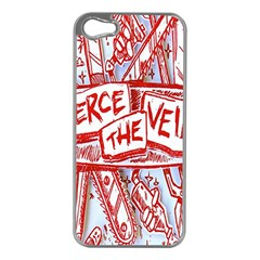 Pierce The Veil  Misadventures Album Cover Apple Iphone 5 Case (silver) by Samandel