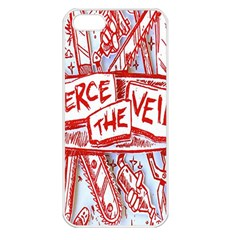 Pierce The Veil  Misadventures Album Cover Apple Iphone 5 Seamless Case (white) by Samandel