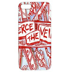 Pierce The Veil  Misadventures Album Cover Apple Iphone 5 Hardshell Case With Stand by Samandel