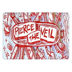 Pierce The Veil  Misadventures Album Cover Samsung Galaxy Tab 10 1  P7500 Flip Case by Samandel