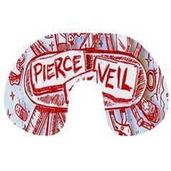 Pierce The Veil  Misadventures Album Cover Travel Neck Pillows
