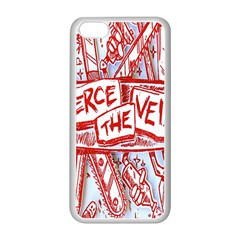 Pierce The Veil  Misadventures Album Cover Apple Iphone 5c Seamless Case (white) by Samandel