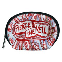 Pierce The Veil  Misadventures Album Cover Accessory Pouches (medium)  by Samandel