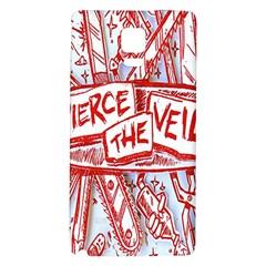 Pierce The Veil  Misadventures Album Cover Galaxy Note 4 Back Case by Samandel