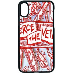 Pierce The Veil  Misadventures Album Cover Apple Iphone X Seamless Case (black)