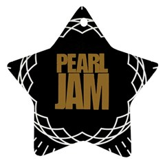 Pearl Jam Logo Ornament (star)