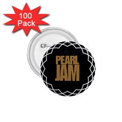 Pearl Jam Logo 1 75  Buttons (100 Pack)