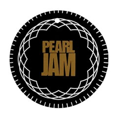 Pearl Jam Logo Round Ornament (two Sides) by Samandel