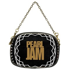 Pearl Jam Logo Chain Purses (two Sides)