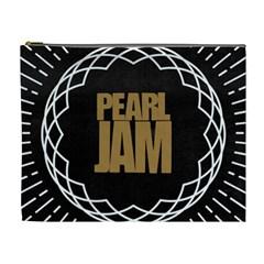 Pearl Jam Logo Cosmetic Bag (xl)