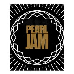 Pearl Jam Logo Shower Curtain 60  X 72  (medium)