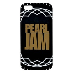 Pearl Jam Logo Apple Iphone 5 Premium Hardshell Case