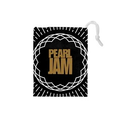 Pearl Jam Logo Drawstring Pouches (small)