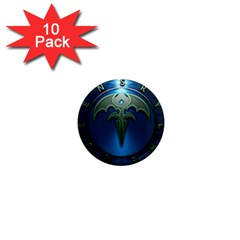 Queensryche Heavy Metal Hard Rock Bands 1  Mini Magnet (10 Pack)  by Samandel