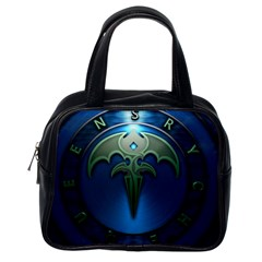 Queensryche Heavy Metal Hard Rock Bands Classic Handbags (one Side)