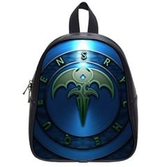 Queensryche Heavy Metal Hard Rock Bands School Bag (small)