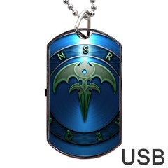 Queensryche Heavy Metal Hard Rock Bands Dog Tag Usb Flash (one Side)