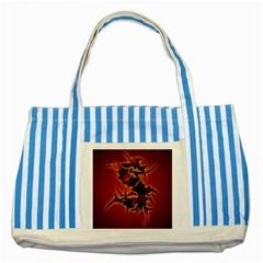 Sepultura Heavy Metal Hard Rock Bands Striped Blue Tote Bag