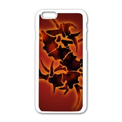 Sepultura Heavy Metal Hard Rock Bands Apple Iphone 6/6s White Enamel Case