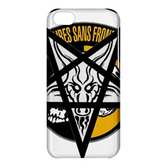Satanic Warmaster Black Metal Heavy Dark Occult Pentagran Satan Apple Iphone 5c Hardshell Case