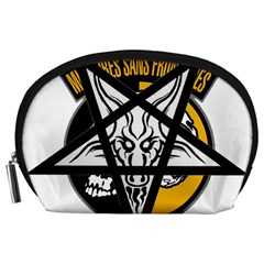 Satanic Warmaster Black Metal Heavy Dark Occult Pentagran Satan Accessory Pouches (large)