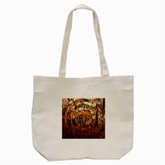 Queensryche Heavy Metal Hard Rock Bands Logo On Wood Tote Bag (cream)