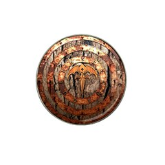 Queensryche Heavy Metal Hard Rock Bands Logo On Wood Hat Clip Ball Marker
