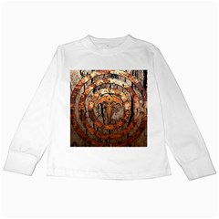 Queensryche Heavy Metal Hard Rock Bands Logo On Wood Kids Long Sleeve T Shirts