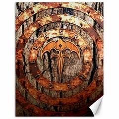 Queensryche Heavy Metal Hard Rock Bands Logo On Wood Canvas 12  X 16